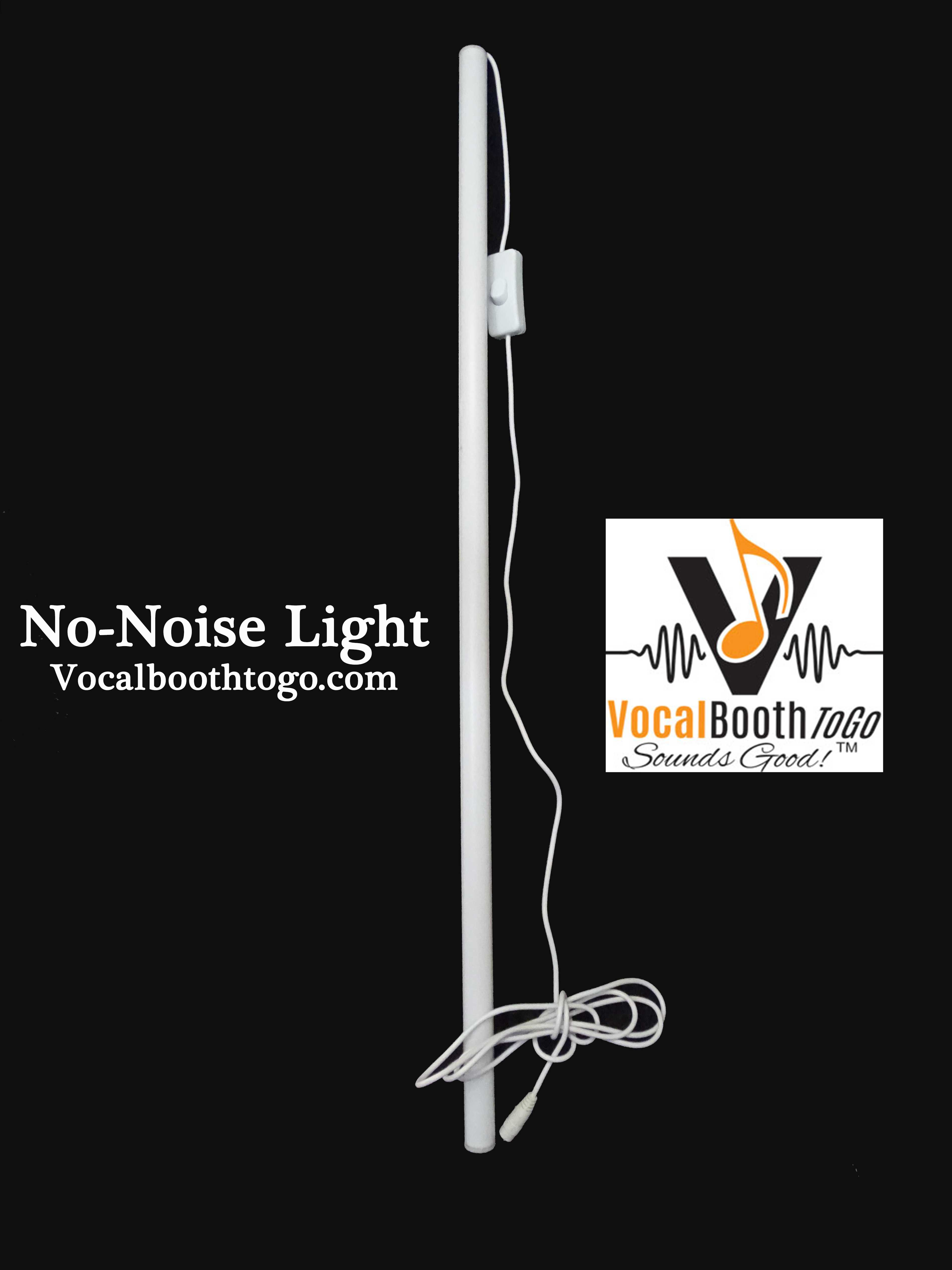 No-Noise LED Light voice recording studio
