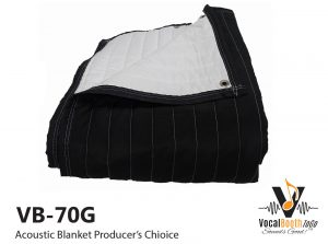Acoustic Blanket producers choice VB70G from VocalBoothToGo