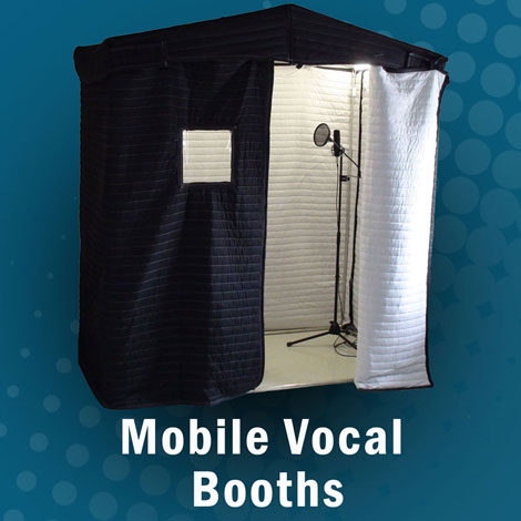 Acoustic Mobile Vocal Booth - AVB Series