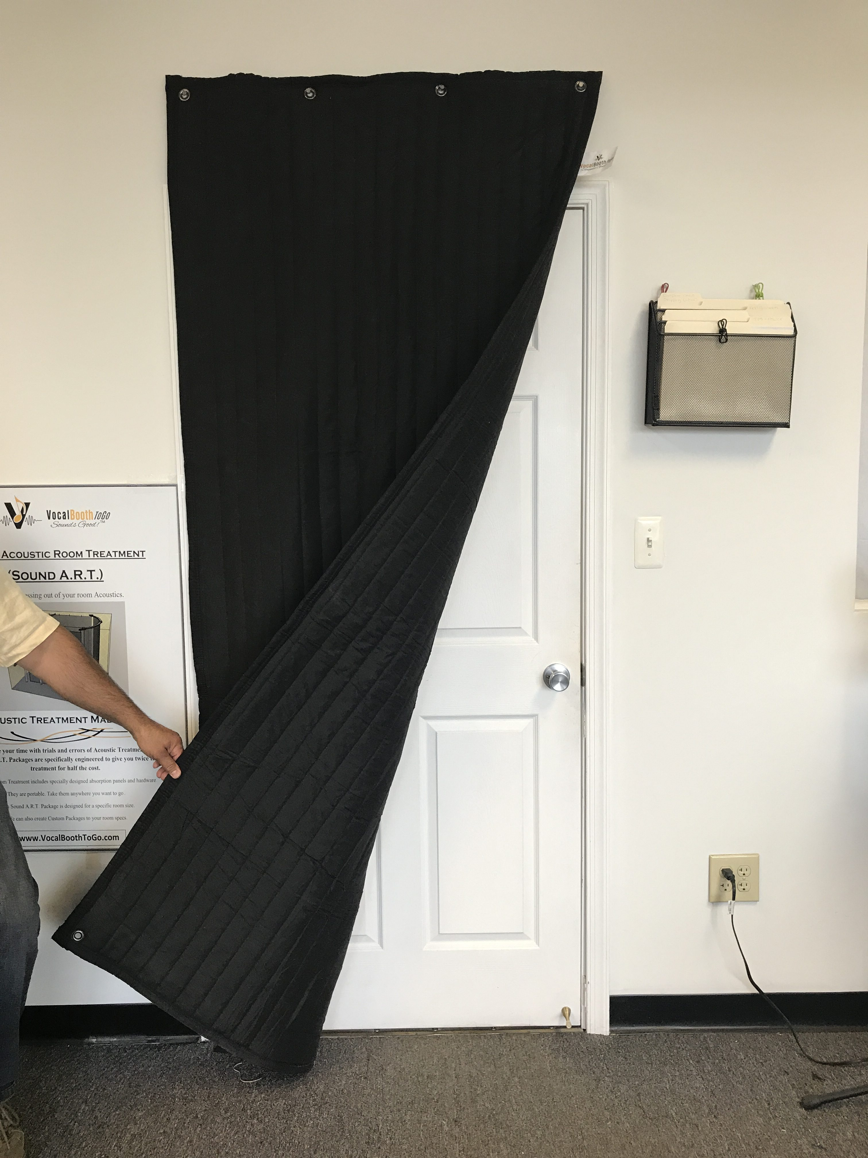 Door Noise Control Portable Vocal Booth Acoustic