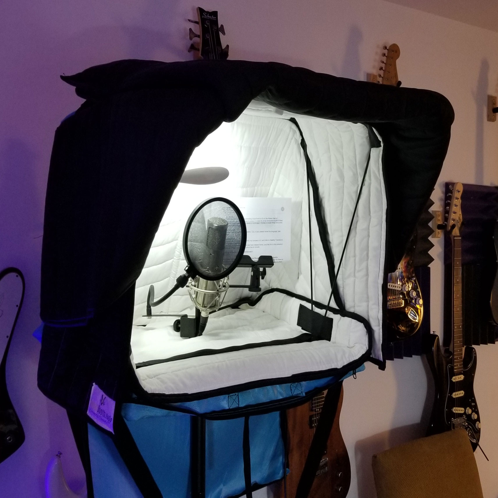 Carry-On Vocal Booth Pro 1.0