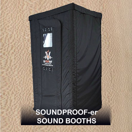 Mobile Soundproof(er) Sound Isolation Booth - SPB series