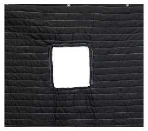 Sound Absorption Blanket with Window