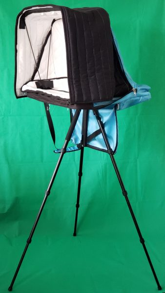 Tripod VOMO vocal booth to go new