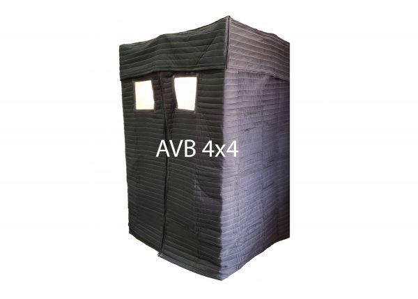 Acoustic Vocal Booth 4×4 with window