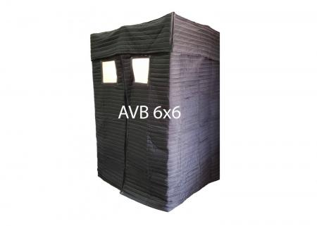 Mobile Acoustic Vocal Booth, (AVB66)