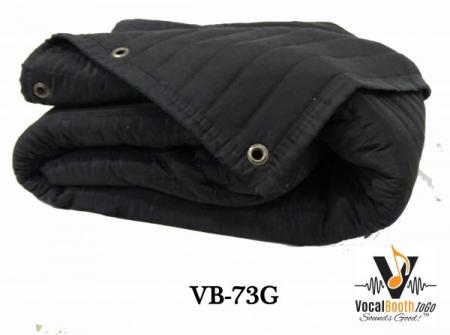 Acoustic Blanket producers choice VB73G for soundproofing