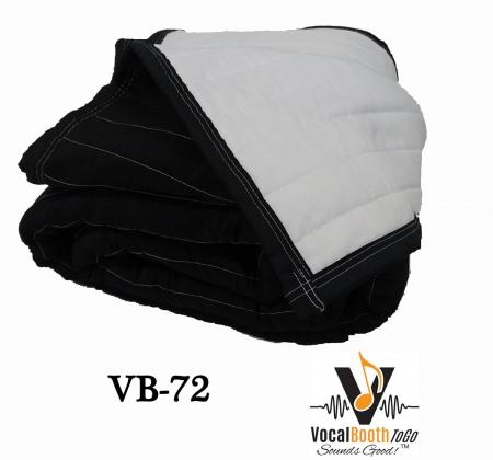 VB72. Sound Absorption Panels Producers Choice- White- Black. Size 200 x 243 cm-619