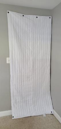 AcousticDoorCover-Blanket-White